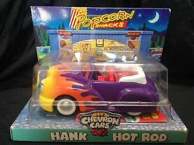 The Chevron Cars  Hank Hot Rod toy car New In Original Box. Collectors item.