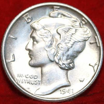 1941-S San Francisco Mint Silver Mercury Dime Free Shipping