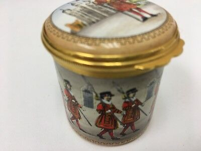 """Halcyon Days Enamels """" Tower Of London"""""""