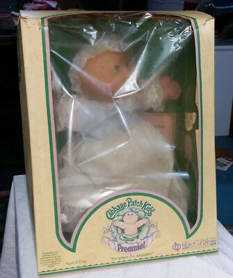 Cabbage Patch Doll Complete In Box Never Removed with Adoption Papers