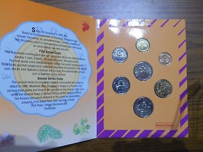 1992 Singapore Mint Uncirculated Commemorative coin Set