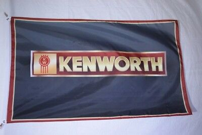 Kenworth Trucks Banner Flag 3X5ft Man Cave Heavy Duty Sign Company Polyester