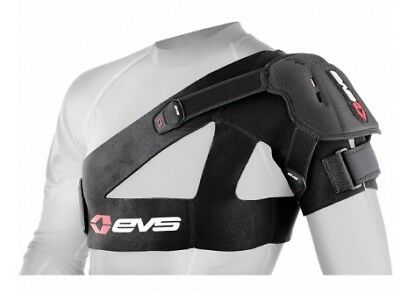 EVS Adult MX ATV Black SB04 Shoulder Support Brace S-2XL