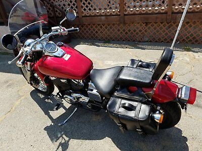 2003 Honda Shadow  2003 Honda Shadow VT750 red paint with ghost flames Runs great