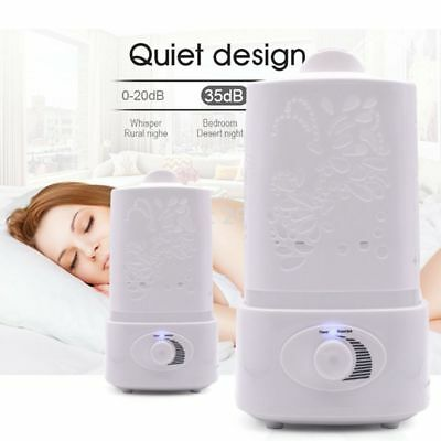 AU LED Ultrasonic Humidifier Essential Oil Diffuser Aroma Air Mist Aromatherapy