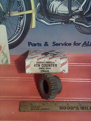 Harley Davidson 4th Counter Drive Gear #296440 Andrews