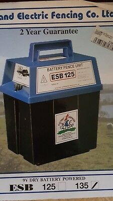 Rutland electric fencing battery powered ESB135