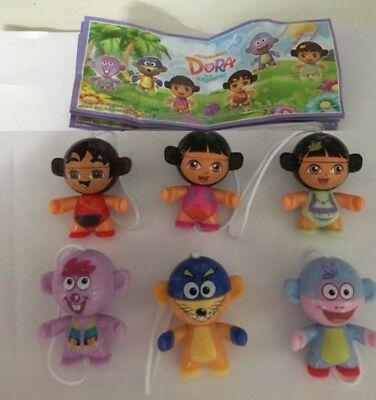Kinder Surprise Ferrero Set Twistheads Dora The Explorer Cake Toppers Nickelodeo