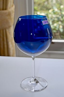 Blue Marquis By Waterford Vintage Jewels Aromatique Balloon Wine Glass 21.9cm