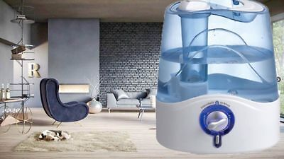 4.5L Adjustable Mist Level Air Humidifier Ultrasonic Mist Diffuser Purifier AU