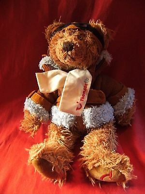 RUSS Thomson Fly Teddy Bear - Pilot - Thomson Holidays - Teddy, Soft Toy, 9""