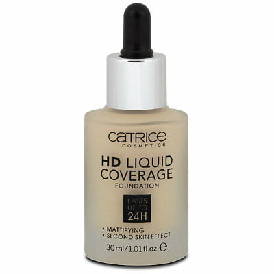 Catrice HD Liquid Coverage Foundation Makeup Sand Beige NP 7€