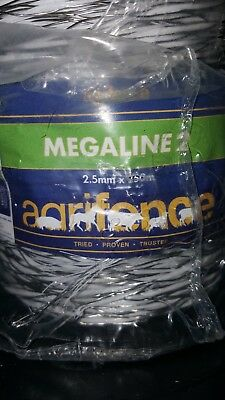 Agrifence Megaline rope and wire 2.5mm x 250m