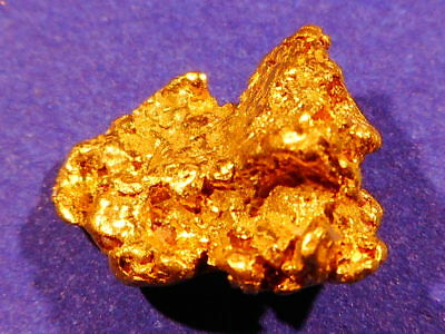Brilliant Australian Gold Nugget  ( 1.47 grams) .