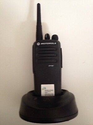 Motorola Dp1400 Analogue Two-Way Radio - Excellent Condition With Charger
