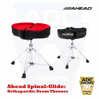 Ahead Spinal-G 'Spinal Glide' Motorcycle Drum Throne Seat (Orthopaedic Stool)
