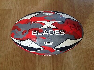 Mike Tindall & Thinus Delport signed Rugby Ball