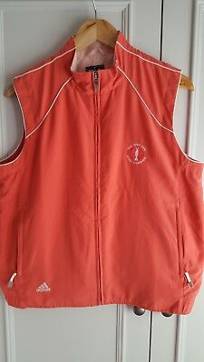 The Open Championship Golf - Clima proof gilet Royal Liverpool 2006 Adidas