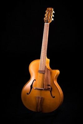 J Fisher archtop jazz guitar