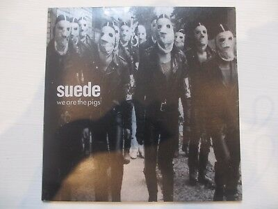 "Suede ‎– We Are The Pigs, Vinyl, 7"", Single, Limited Edition, Gatefold"