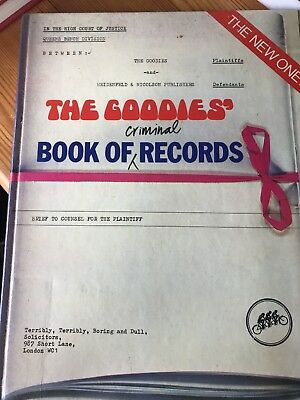 Book of Criminal Records,The Goodies