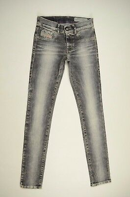 NEU! Diesel LIVIER 0602WSTRETCH W25 Damen Low waist Jegging Jeans Denim Hose 267