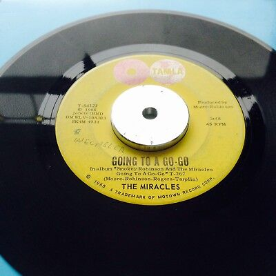 ** Northern Soul Classic ** The Miracles - Going To A Go Go ** Vg+