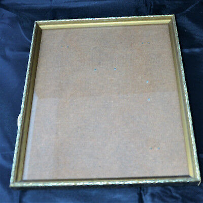 Antique Gilted Wooden Picture Frame 32cm x 27cm - Gorgeous
