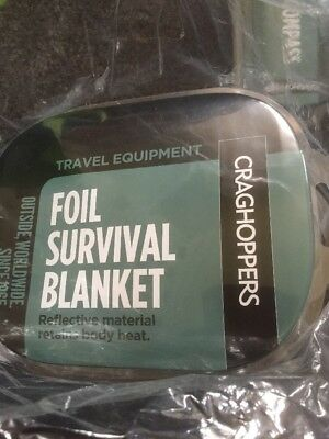 Foil Blanket  Joblot Of Craghoppers