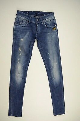 G-Star Raw FENDER SKINNY WMN W27 L32 Damen Jeans Hose Women Denim 271