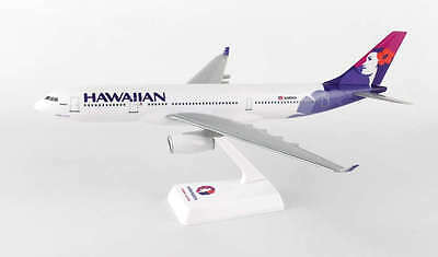 Flight Miniatures Hawaiian Airlines Airbus A330-2 Desk Top 1/200 Model Airplane