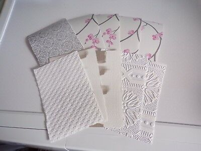 10X Special Wallpapers For Making Crafts/cards Etc 15X10 Cm (Wp71) New New