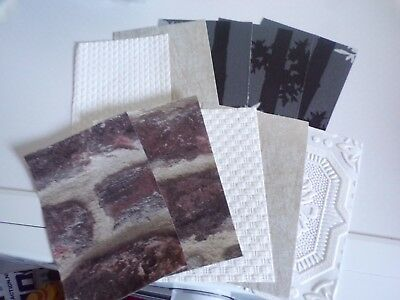 10X Special Wallpapers For Making Crafts/cards Etc 15X10 Cm (Wp81) New New