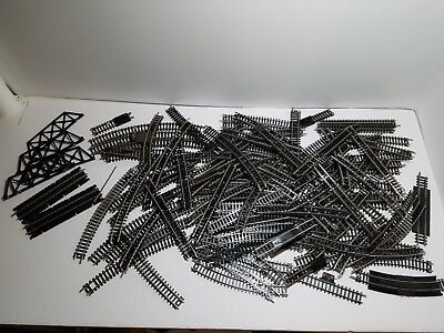 120 Piece Lot of N Scale Atlas and Bachmann Track