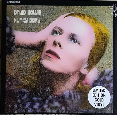David Bowie - Hunky Dory (2017)  Limited Edition Gold Vinyl LP  NEW  SPEEDYPOST