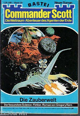 COMMANDER SCOTT  23 / Gregory Kern / (1975-1976 Bastei Verlag)