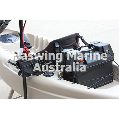 Kayak Electric Trolling Motor and  Fish Finder Mount