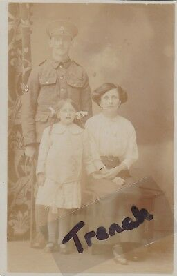 Royal Army Medical Corps Soldier BOSTON Lincs, with family.