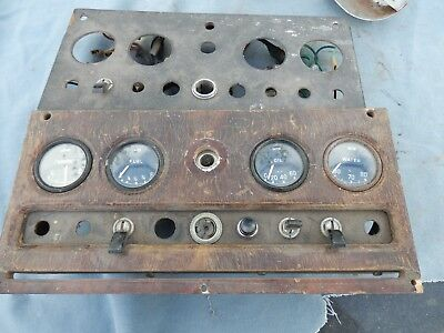 "Jaguar "" S"" Type & Mark Two  Instrument Dash Incomplete."
