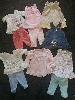 disney baby girls clothes outfits dresses cardigan bundle 0-3 months(listing B)