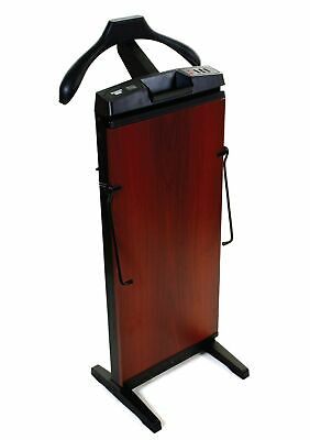 The Corby 7700 Trouser Press in Mahogany