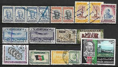 Afghnistan A Selction Of (18) Stamps