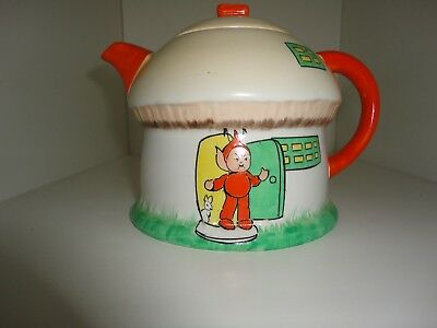 """Shelley Mabel Lucy Attwell  """" Boo Boo """" Toadstool Teapot"""