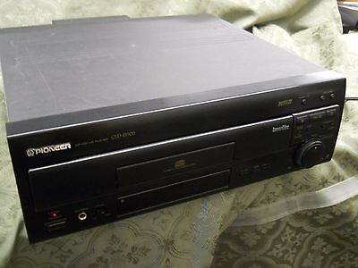 PIONEER CLD-D503 Laser Disc CD CDV LD Player NOT WORKING AS-IS PARTS OR REPAIR