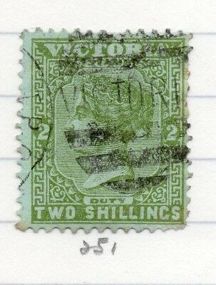 AUSTRALIA VICTORIA 1884-95 Early Issue Fine Used 2d. 195243