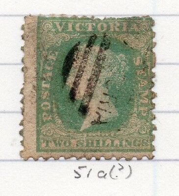AUSTRALIA VICTORIA 1859 classic QV Early Issue Fine Used 2S. 195193