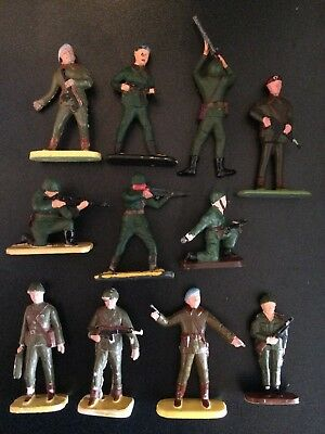 Scarce plastic figures made in Poland (A)