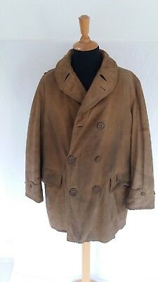 Ww2 British Extremely Rare 'jacket, Reefer'-  Jeep Coat 1945 Dated