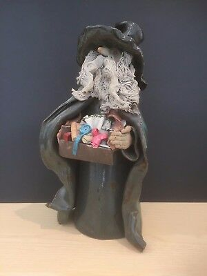 "Clare Craft Pottery Wizard - 12"" Tall"