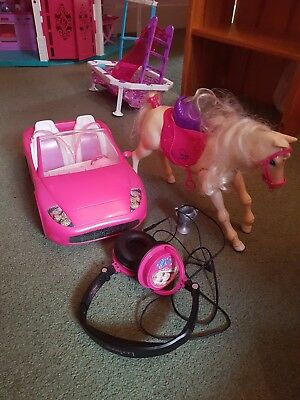 Barbie Horse , Car and Headphones
